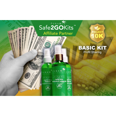 Basic SanOtizer™ Pkg - Affiliate Partner $58.99 + 19.99