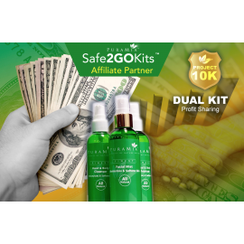 Dual SanOtizer Pkg - Affiliate Partner -$122.99 + $19.99 AP