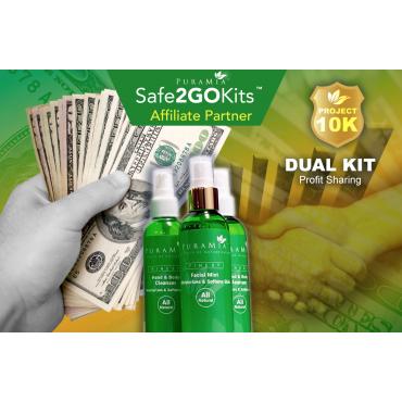 Dual SanOtizer Pkg - Affiliate Partner -$122.99 + $19.99 AP